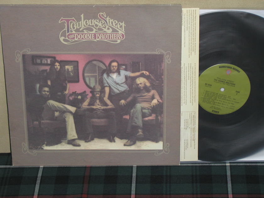 The Doobie Brothers - Toulouse Street Green WB labels 1-B/1-B matrixes