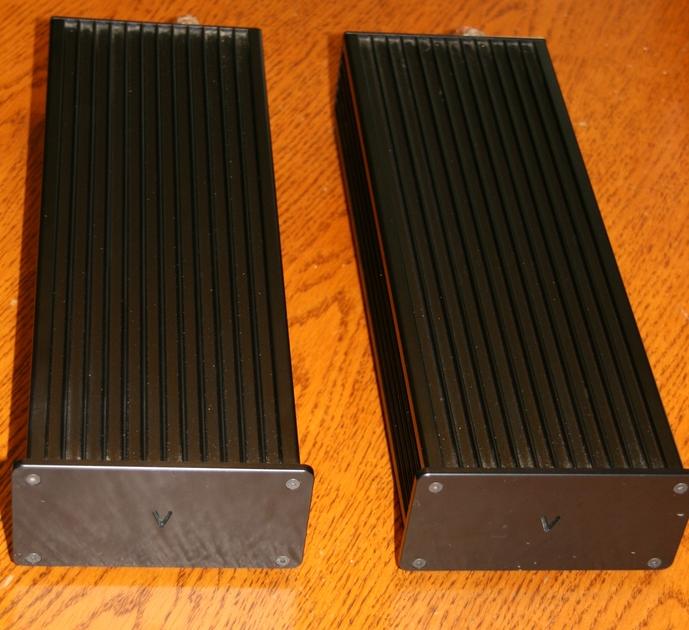 Valvet E-1 Single Ended Class A Monoblocs