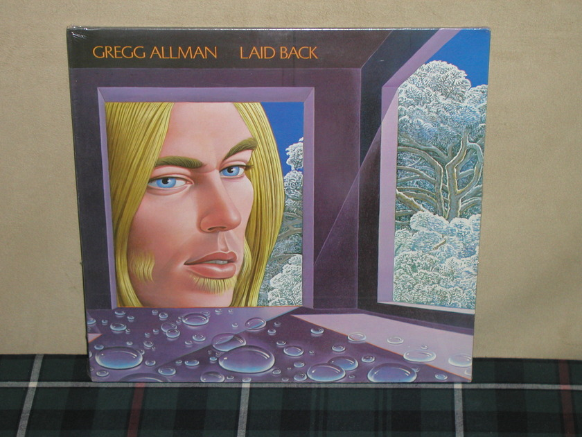 Gregg Allman - Laid Back  SEALED/Gatefold From early 70's!!