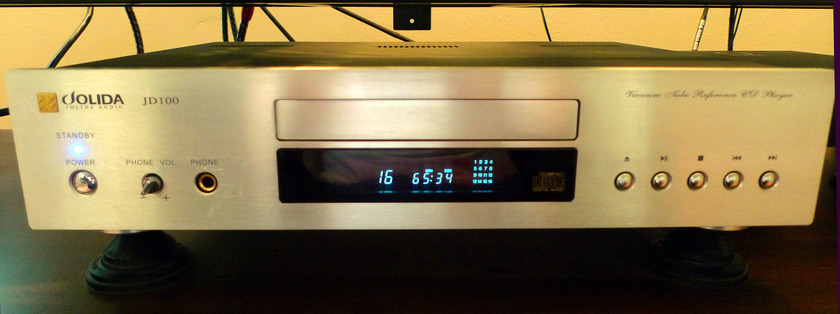 Jolida  JD-100A Reference Vacuum Tube CD Player + Extras