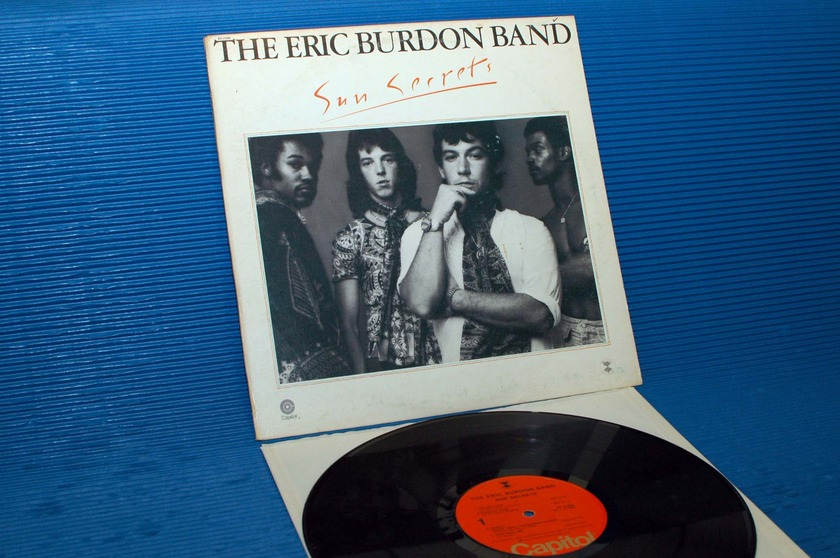 "THE ERIC BURDON BAND -  - ""Sun Secrets"" - Capitol 1974"