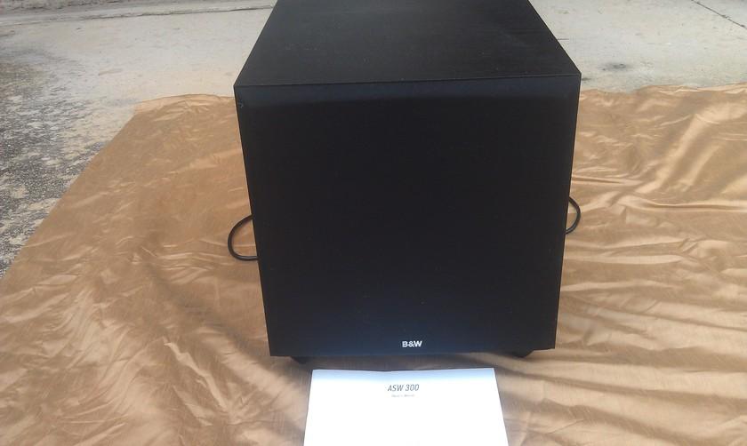 B&W ASW 300 Speaker