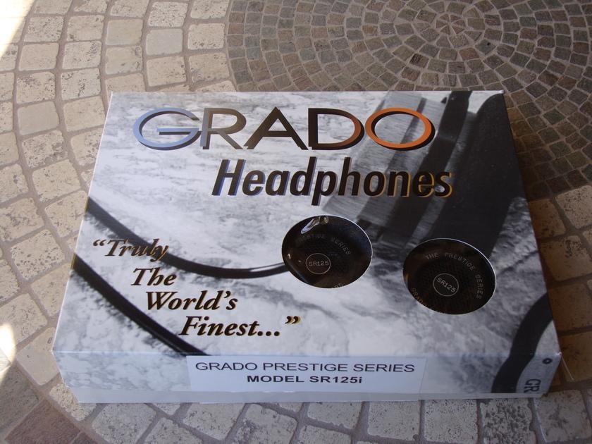 Grado Prestige Series  Model SR125i Headphones MINT!