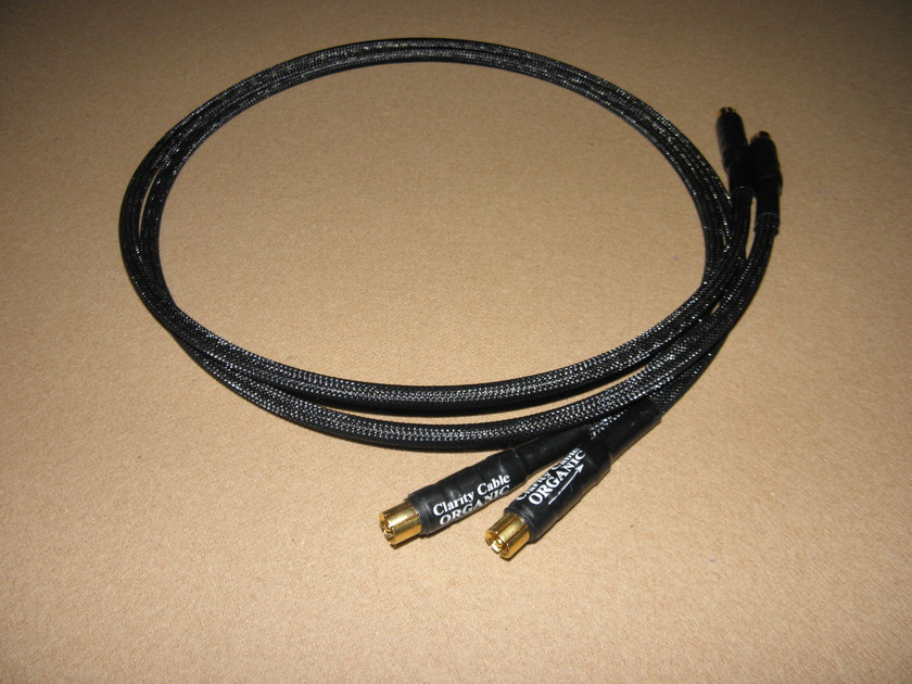 Clarity Cable Organic 1m RCA