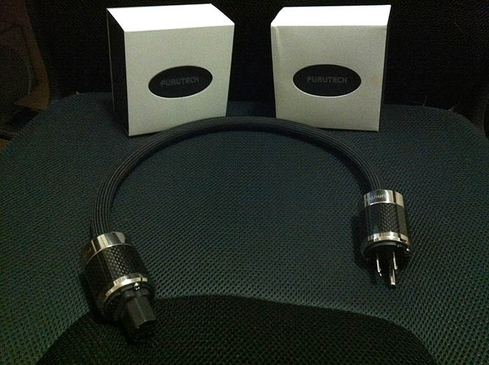 Furutech FI-50(R) Male and Female Carbon Fiber Plugs