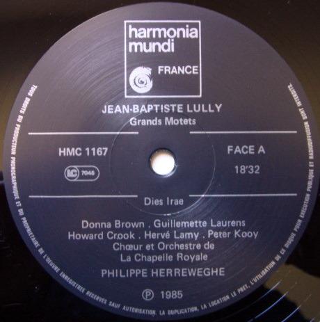 ★Audiophile★ Harmonia Mundi / HERREWEGHE, - Lully Grands Motets, NM!
