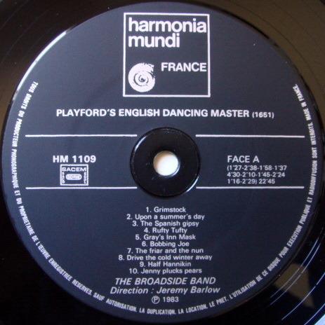 ★Audiophile★ Harmonia Mundi / BROADSIDE BAND, - Country Dances, NM!