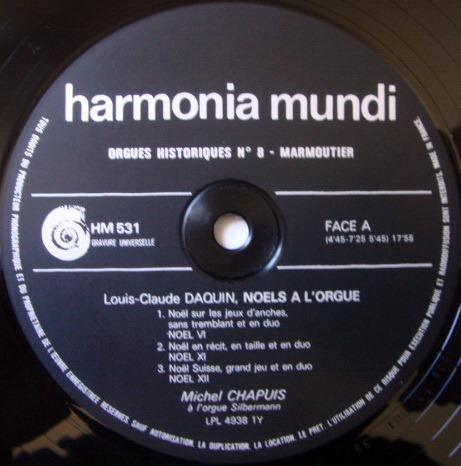 ★Audiophile★ Harmonia Mundi / SAORGEN-CHAPUIS, - Noels A L'Orgue, NM, 3LP Box Set!