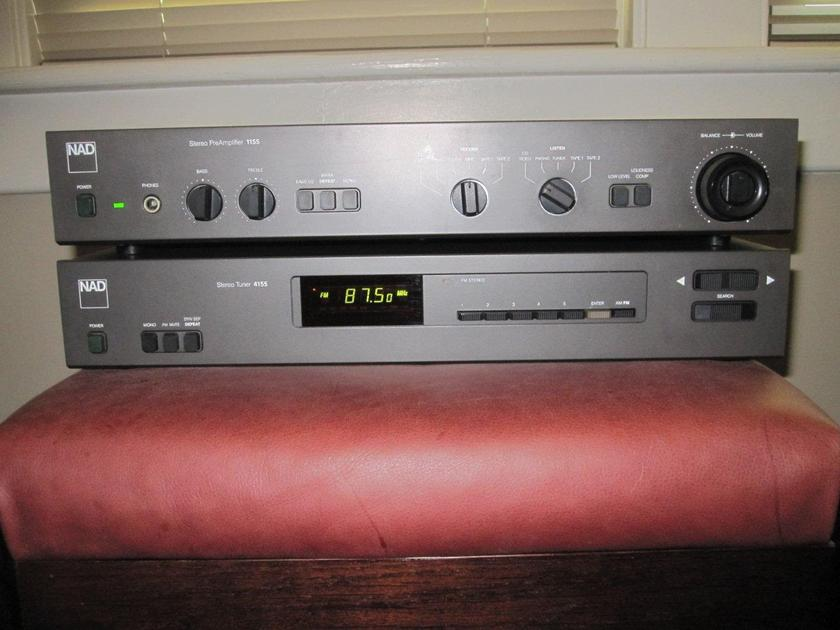 NAD 1155 Preamplifier -- Great shape, original owner