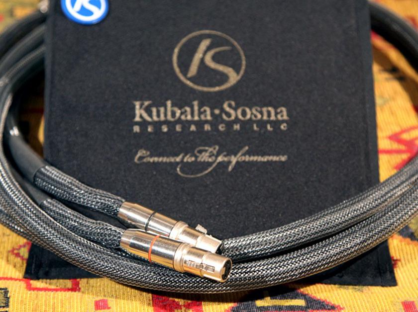 Kubala Sosna Elation 1.5m Interconnects
