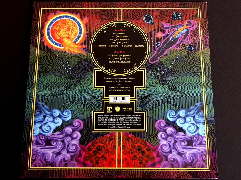 Mastodon - Crack The Skye  Lmtd. Edition vinyl