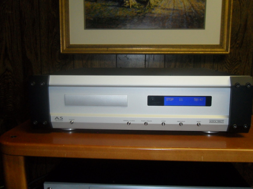Musical Fidelity. A5 CD. 24bit - 192kzh. Price for quick sale.