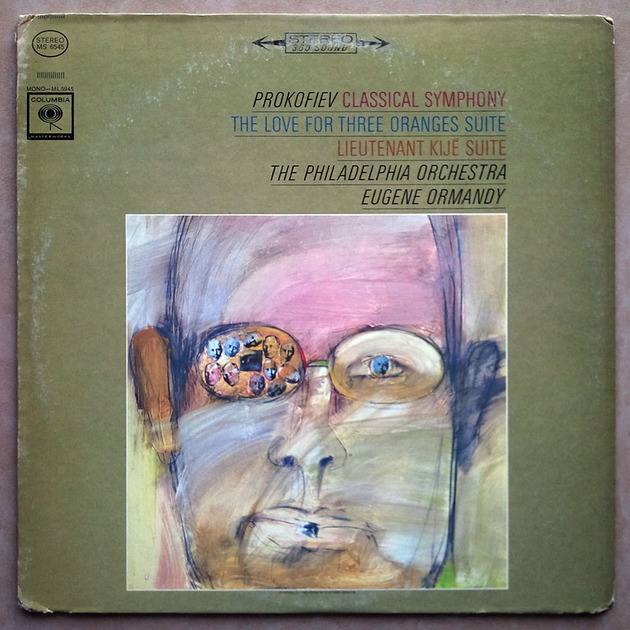 COLUMBIA | ORMANDY/PROKOFIEV - Classical Symphony, The Love for Three Oranges, Lieutenant Kije / VG+