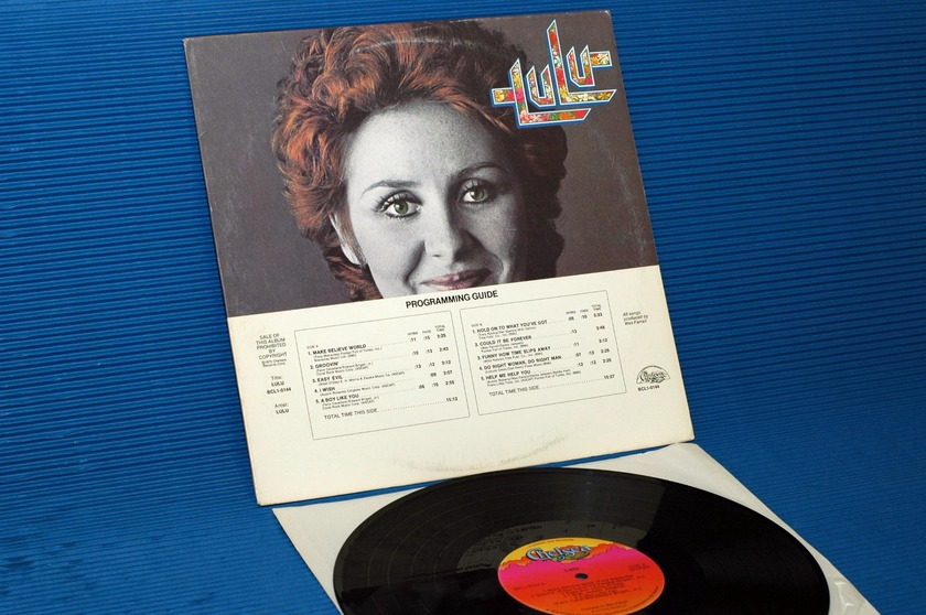 "LULU -  - ""Lulu"" -  Chelsea 1973 Demo w/DJ timing chart"