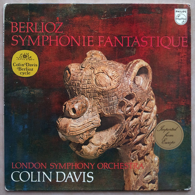 PHILIPS   DAVIS/BERLIOZ - Symphonie Fantastique / NM