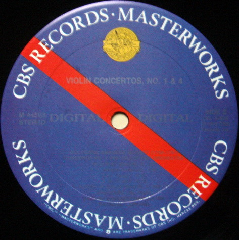 CBS Digital / CHO-LIANG LIN, - Mozart Violin concertos No.1 & 4, MINT!