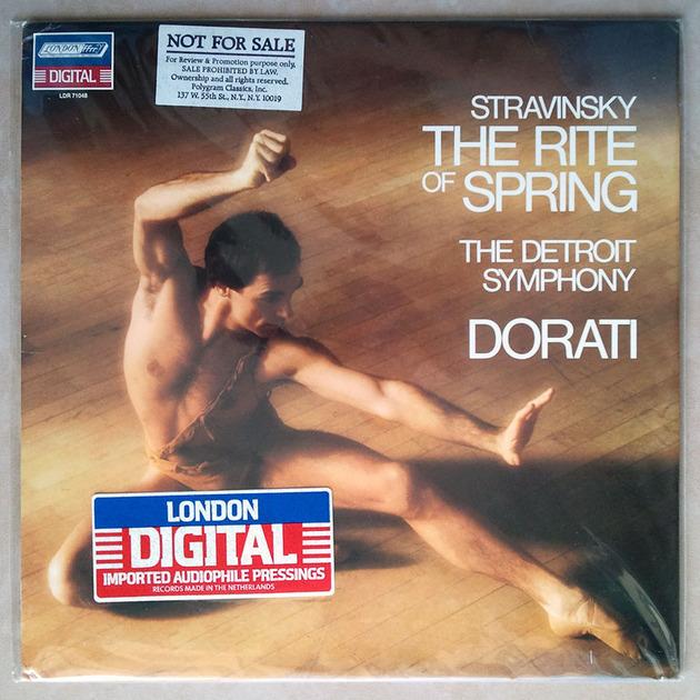 Sealed LONDON Digital   DORATI/STRAVINSKY - The Rite of Spring / Promotion Copy