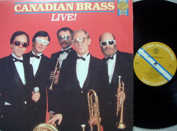 CBS / CANADIAN BRASS, - Live !, MINT!