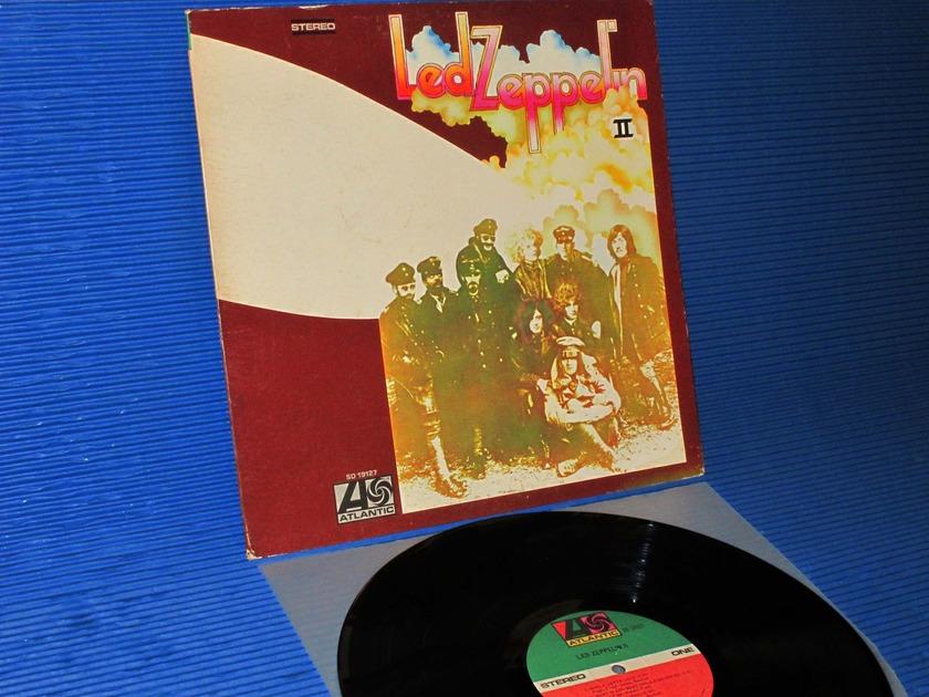"LED ZEPPELIN - - ""Led Zeppelin II- Atlantic 1977 side 1 Hot Stamper"
