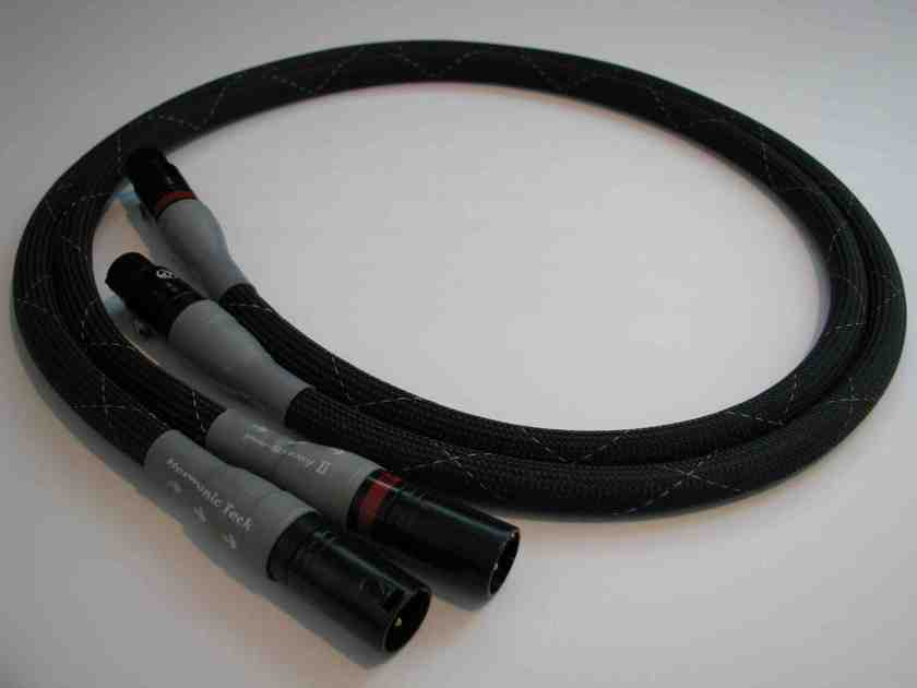 Harmonic Technology ProSilway II XLR 1.0m interconnects