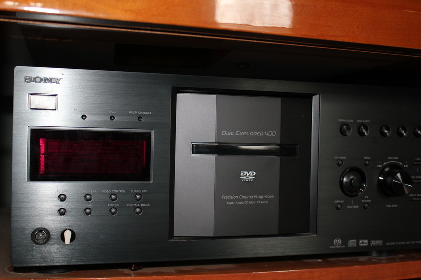 Sony ES400 DVD/CD Library/Player
