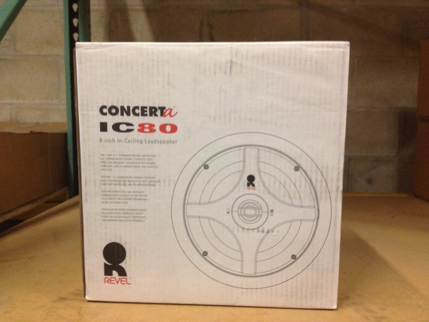 Revel ConcertA  IC80 In-Ceiling Loudspeaker
