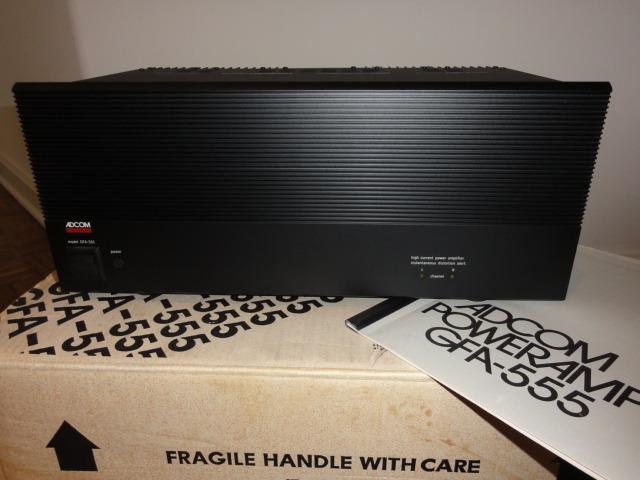 Adcom GFA-555 Amplifier 200W x 2