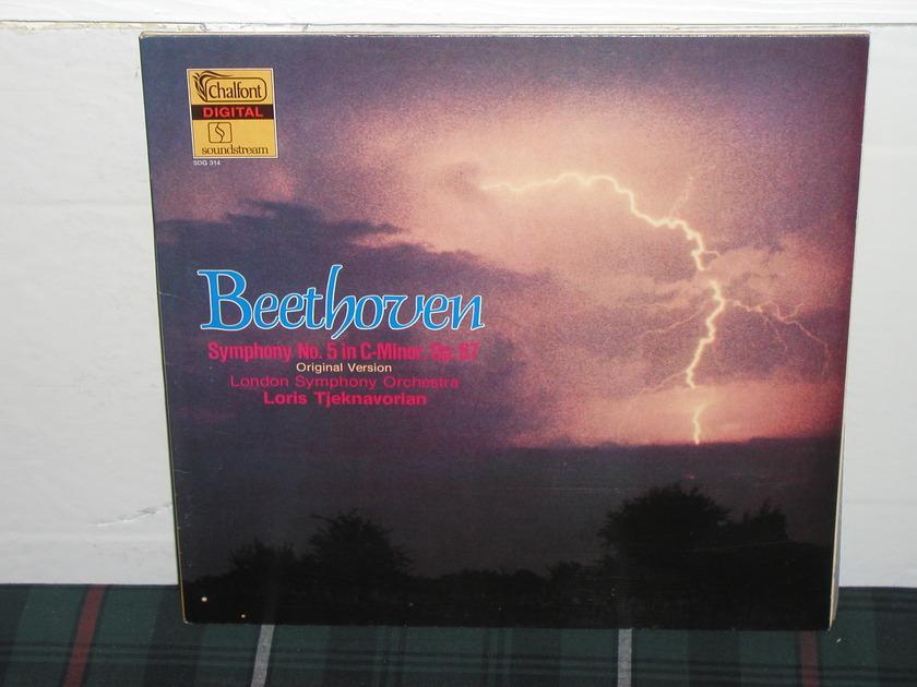 Loris/LSO - Beethoven 5 Chalfont Soundstream SDG 314