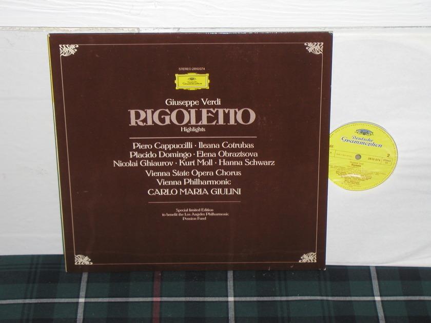 Giulini/VPO - Verdi Rigoletto DG German import  press