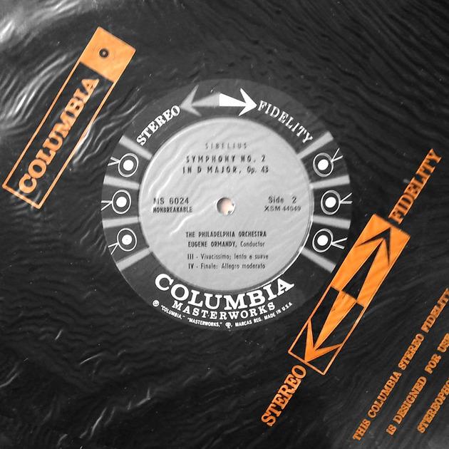 Sealed COLUMBIA 6-EYE | ORMANDY/SIBELIUS - Symphony No. 2