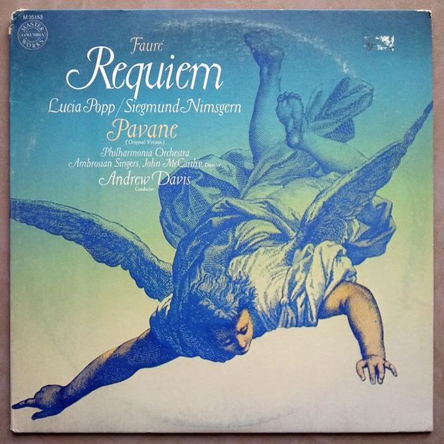 COLUMBIA   DAVIS/FAURE - Requiem, Pavane / NM