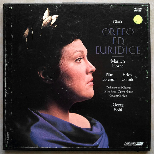 London ffrr | SOLTI/GLUCK - Orfeo ed Euridice / 2-LP / NM