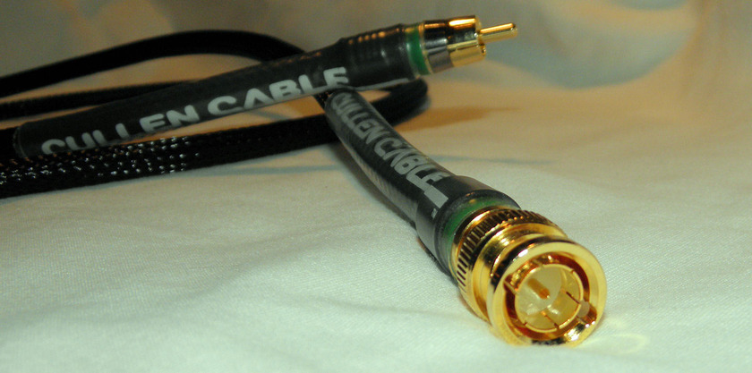 Cullen Cable True 75 Ohm 1 Meter  Digital RCA Cable Made in the USA!