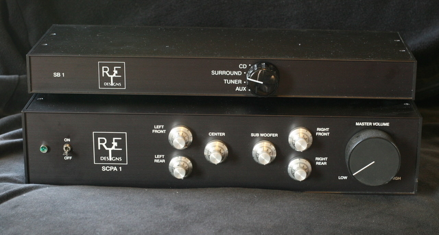 RE Designs SCPA 1 Six-Channel Preamp and SB 1 Switchbox