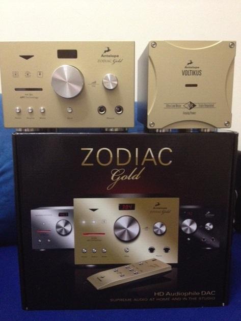 Antelope Audio Zodiac Gold +Voltikus Separate Power Supply