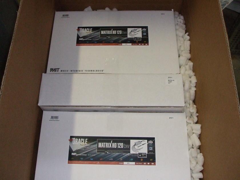 MIT Matrix HD120 Bi-Wire Speaker Cables