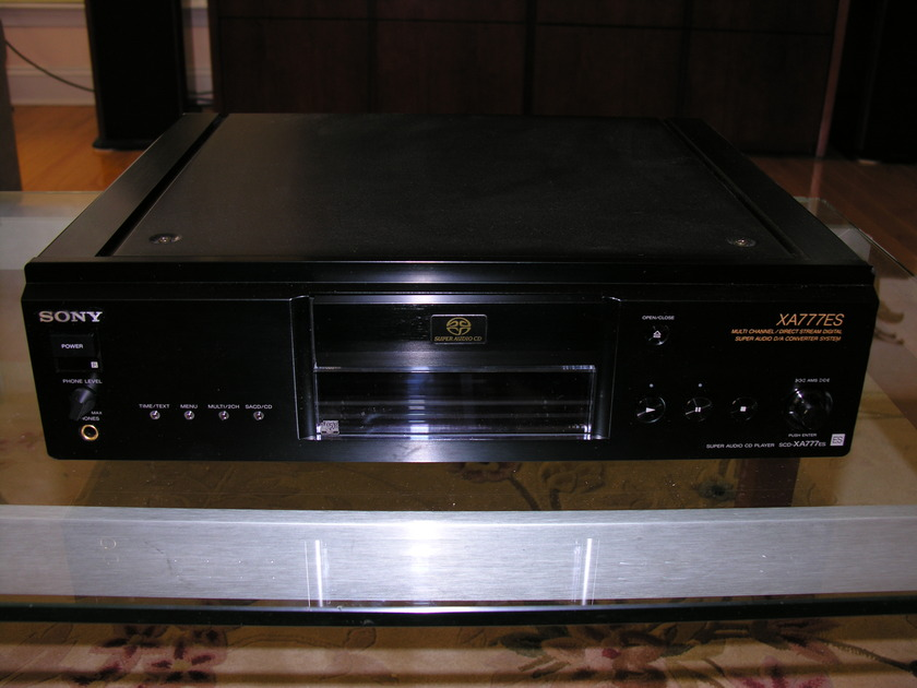 Sony XA777ES SACD Player Priced to sell