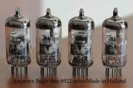 AMPEREX BUGLE BOYS ECC88/6DJ8 QUAD OF 4 X  TESTED AND MATCHED  TUBES FREE WORLD WIDE AIRMAIL SHIPPING