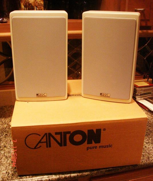 Canton  Ergo 601 Slim Profile Speakers