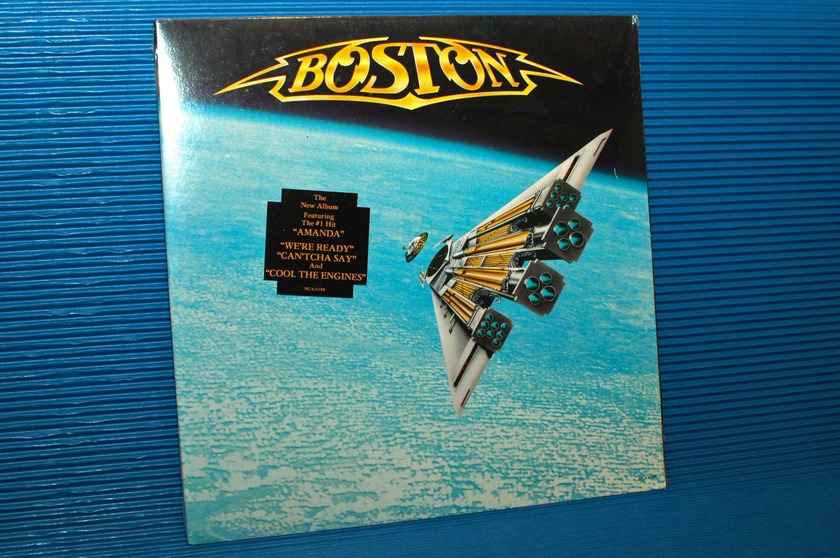 "BOSTON - - ""Third Stage"" - MCA 1986 Sealed!"
