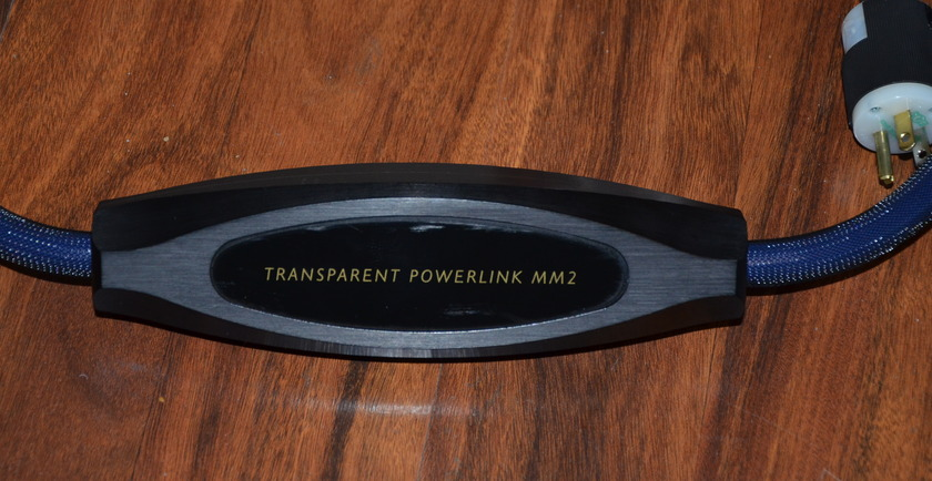 Transparent Cable PowerLink MM2 Top of the Lines Power Cord, 20-Amp  Best in the Market in Mint Condition
