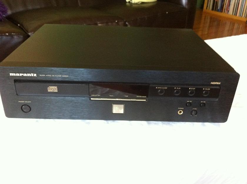 Marantz SA8001  Super Audio CD Player