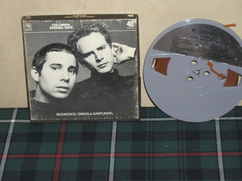 Simon&Garfunkel  Bookends - 7 1/2 ips Open Reel Tape Columbia tape from 60's