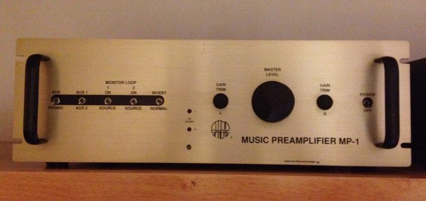 Atma-sphere MP-1 Mk II Preamplifier