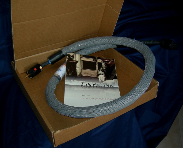 Faber's Cables XSolution Very high-end power cord