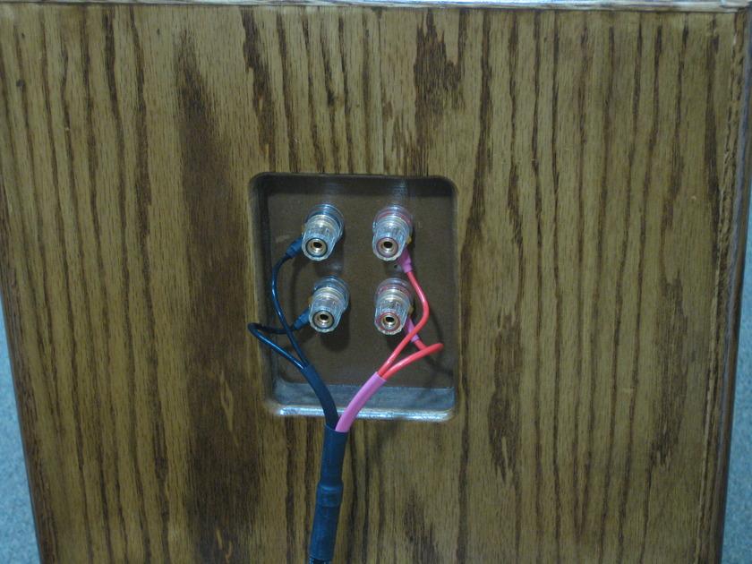 SILVER SONIC Q-10 speaker wire 8 foot pair