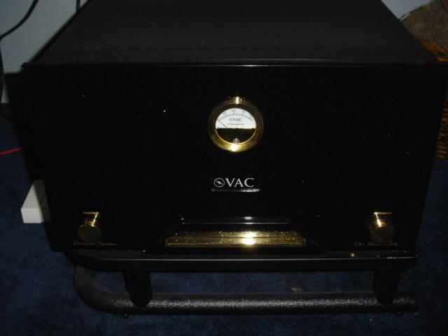 VAC Valve Amplification Company Renaissance Signature 140 Mono's 14o watt push Pull 300B monoblocks
