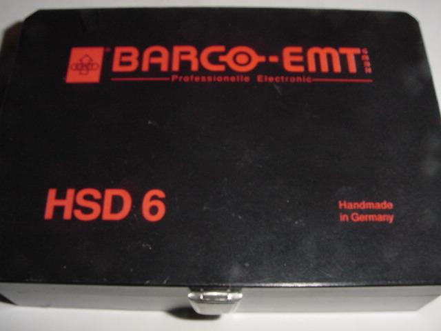 EMT-BARCo HSD-6 German hand made elite MC cartridge high output