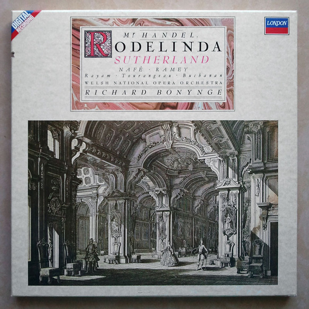 London Digital | SUTHERLAND/BONYNGE/HANDEL - Rodelinda / 2-LP / NM