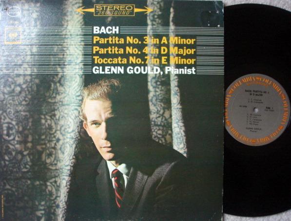 Columbia / GLENN GOULD, - Bach Partitas No.3, 4 & 7, MINT!